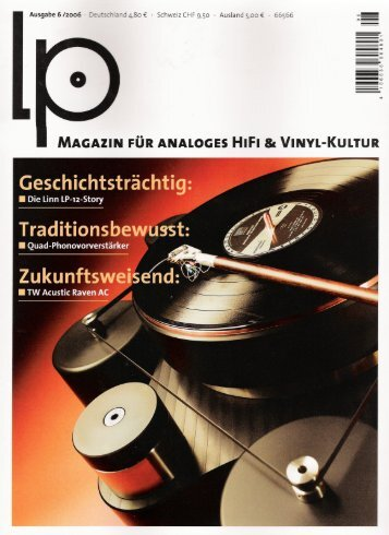 MAGAZIN FUR ANALOGES HIFI 81 VINYL-KULTUR - MW-AUDIO