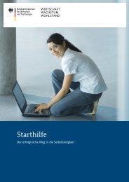 Starthilfe Der erfolgreiche Weg in die Selbständigkeit (pdf, 3775 KB