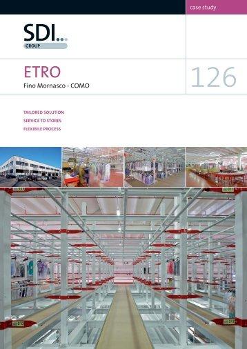 Case Study 126 - Etro, Fino Mornasco, Como, Italy - SDI Group