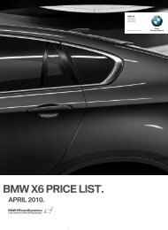 Price files (PDF) - BMW South Africa