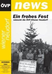 Ein frohes Fest - Oevp-wienerneudorf.at
