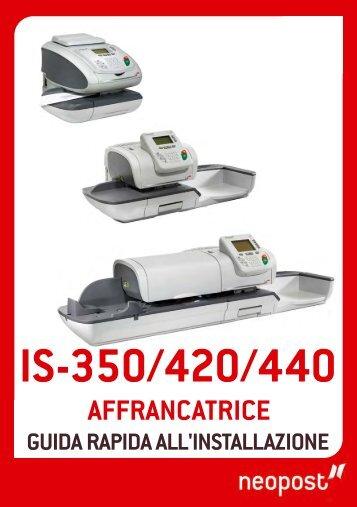 4150613Ea IS350 420 440 Italie GI.PUB - Neopost