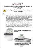 4150613Ea IS350 420 440 Italie GI.PUB - Neopost - Page 3