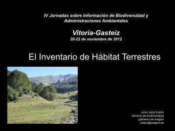 Inventario de Hábitats terrestres - Gbif.es