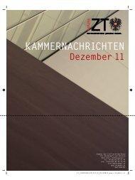 KAMMERNACHRICHTEN - Kammer der ZiviltechnikerInnen für ...