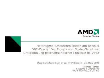 Heterogene Echtzeitreplikation am Beispiel Db2-Oracle: Der Einsatz ...