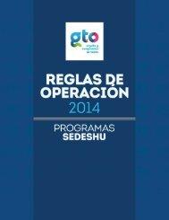 Reglas de Operacion 2014