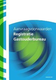 Aanvraagvoorwaarden registratie ... - Gemeente Katwijk