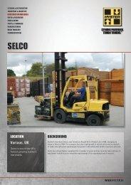 Selco Case Study PDF - Hyster Company