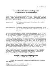 Usnesení o nařízení dražebního jednání - OKdrazby.cz