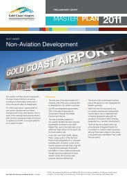 Non-aviation Development Fact Sheet - Gold Coast Airport
