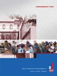jahresbericht 2004 - Institut für Sozialarbeit und Sozialpädagogik eV