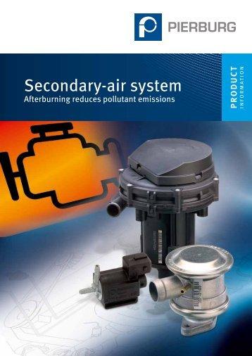 Secondary-air system - Ms-motor-service.com.tr