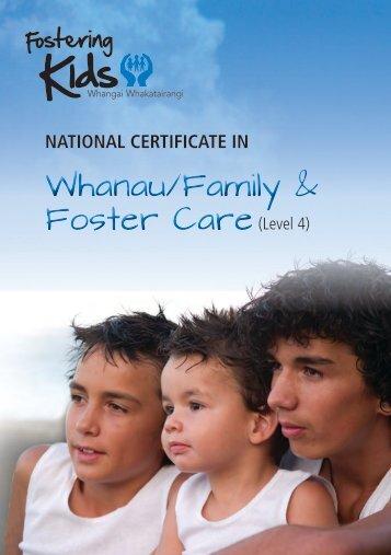 National Certificate Brochure - Fostering Kids