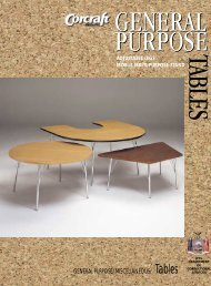 General Purpose Tables - Corcraft