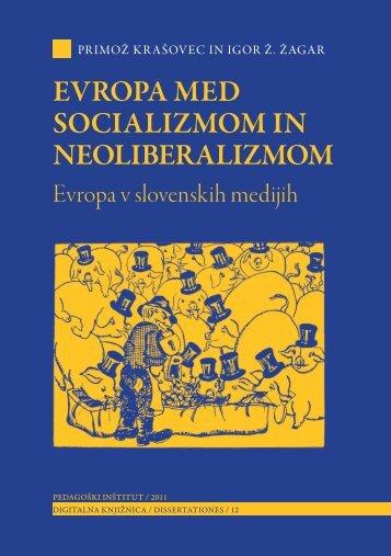 Evropa med socializmom in neoliberalizmom - Pedagoški inštitut