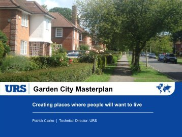 Garden City Masterplan - Town and Country Planning Association