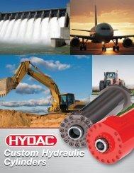 Custom Hydraulic Cylinders Custom Hydraulic ... - HYDAC USA