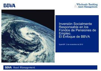 Inversión Socialmente Responsable en los Fondos de ... - Spainsif