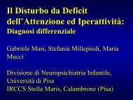ADHD e diagnosi differenziale - Masi - Aidai