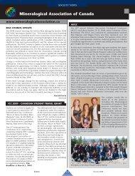 Mineralogical Association of Canada - Elements - GeoScienceWorld