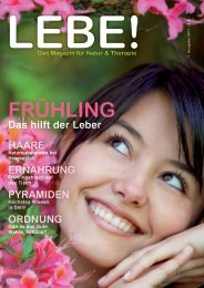 Lebe-Magazin 1 / 2011 - ms-training
