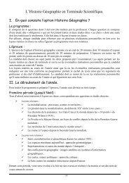 HISTOIRE - THEME 3 - Lycée Léonard de Vinci