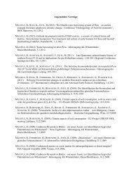 Angemeldete Vorträge - Geographisches Institut Uni Heidelberg