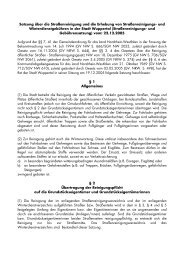 Satzung über die Straßenreinigung und die ... - Stadt Wuppertal