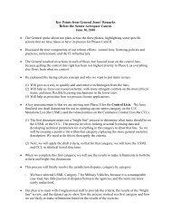 Key points from Jones - Aerospace Industries Association