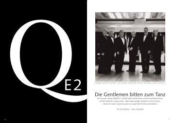 Die Gentlemen bitten zum Tanz - zora del buono, autorin