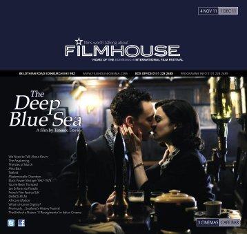 Deep Blue Sea - Filmhouse Cinema Edinburgh