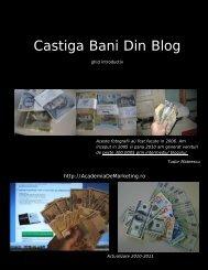 Castiga Bani Din Blog - Academia De Marketing Online