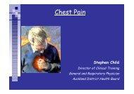 Chest Pain Case Studies (PDF Format)