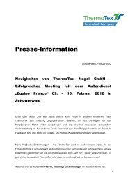 EuroMold, Frankfurt / Main - ThermoTex