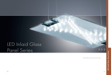 LED Inlaid Glass Panel Series - Wiedamark