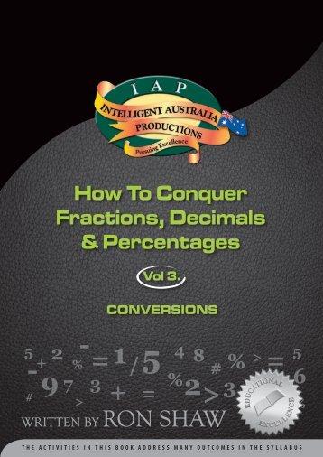 Fractions 3 - Australian Teacher