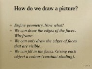 How do we draw a picture?