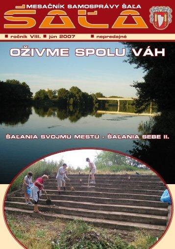 na stiahnutie (pdf - 3.08 MB) - Mesto Šaľa