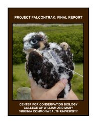 project falcontrak: final report - Global Raptor Information Network