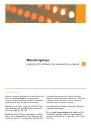 Manuál logotypu - Ministerstvo školství, mládeže a tělovýchovy