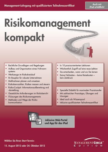 Risikomanagement kompakt - Management Circle AG