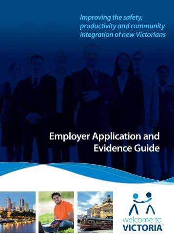 Victoira Employer Application and Evidence Guide - Vecci
