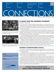 A Letter from the Chamber President - West Shore Chamber of ...