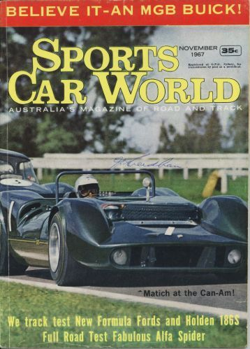 MGB_Buick-SCW_NOV_1967 - MGBs Made In Australia
