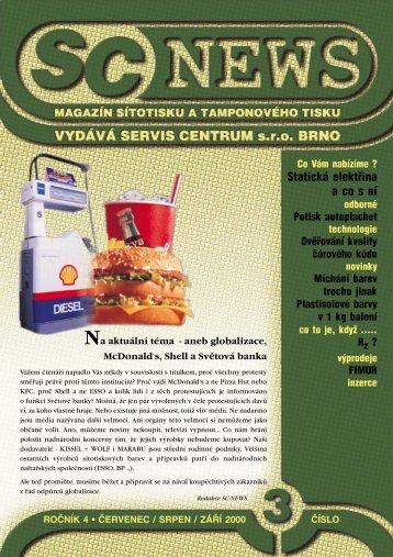 SC 2000 / 3 - SERVIS CENTRUM
