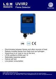 UV/IR2 Flame Detector - LGM Products Ltd