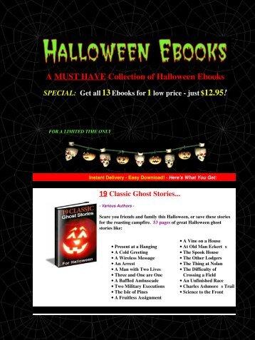 Halloween Ebooks - Halloween Ebook Books Recipes Crafts ... - Zataz