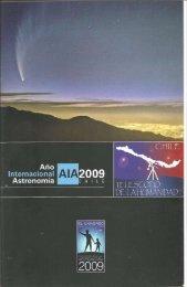 Page 1 _Año lnternaclonçl Astronomia * 2009 CHILE AST NEIN-