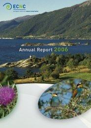 Annual Report 2006 - ECNC